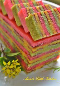 AMIE'S LITTLE KITCHEN: Haw Flake Cheese Layer Cake ( Kek Lapis Keju Masam Manis)