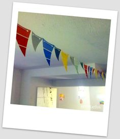 Paint swatch banner