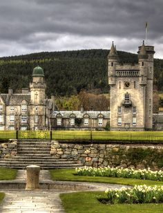 Balmoral Castle by Paul Bappoo.  Click on link to see the full picture.