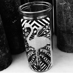 #blackandwhitephoto #blackandwhite #blackandwhitephotography #bnw #bnwphotography #everydaypicture #photooftheday #zwartwitfoto #zwartwit #zwartwitfotografie #elkedageenfoto #fotovandedag #project2017 #candle #kaars #flamingo #flamengo #stripes #strepen #decoration #decoratie #interior #interieur #styling #likeit #leuk