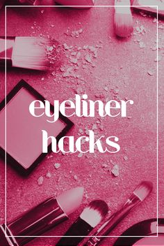 13 amazing eyeliner hacks to (finally!) get that perfect line Try these eyeliner hacks, tips and tricks for liquid and pencil liner. Learn how to do cat eyes, winged or hooded liner for beginners. Eyeliner Hacks, Simple Eyeliner, Eyeliner Styles, How To Apply Eyeliner, Eyeliner Ideas, Perfect Eyeliner, Dramatic Eye Makeup, Cat Eye Makeup, Dramatic Eyes