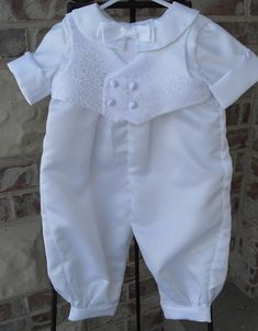 Boys christening baptism blessing outfit by Joysheartcreations, $75.00