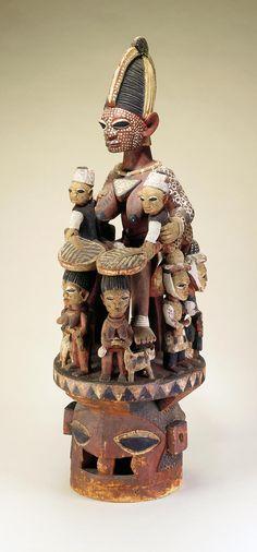Yoruba Epa Helmet Mask, Nigeria