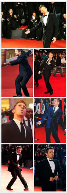 Renner - Never a dull moment on the red carpet.