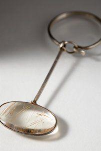 Scarf ring designed by Torun Bülow-Hübe, Sweden. 1950's.