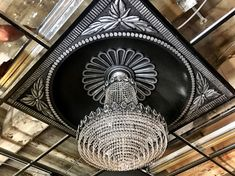 Living and Dining – Page 16 – Idea Library Ceiling Medallions, House Rooms, Hand Fan, My Dream Home, Home Appliances, Hand Painted, Dining, Gallery, Foyer