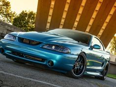 A detailed look at Bryan Reid's heavily modified street 1994 Ford Mustang. Sparco seats, OEM interior, a tubular front suspension and more. Sn95 Mustang, 2000 Ford Mustang, Ford Gt, Ford Mustang History, Spa, Unique Cars, Performance Cars, Hot Cars, Car Pictures