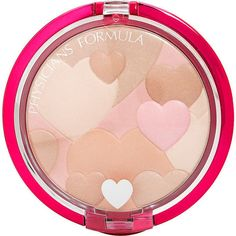 Physicians Formula Happy Booster Glow Mood Boosting Powder Translucent (65 PEN) ❤ liked on Polyvore featuring beauty products, makeup, face makeup, face powder, physicians formula, translucent face powder and physicians formula face powder