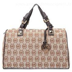 Michael Kors Grayson monogramme Grand cavans Satchel MokaSneakers France #bags#jewellery #jewellerydesign}