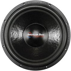 "American Bass 15"" Woofer 2000W Max 2 Ohm DVC"