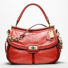 """Coach Flagship Leather Dowel Flap 70th anniversary handbag!! A striking silhouette in soft tumbled leather inlaid with suede. Adorned with gold tone hardware. Inside zip pocket, cell phone and multifunction pockets. Fabric lining and turn lock closure. Detachable strap for shoulder wear with 13"""" drop. Handle with 7"""" drop. Includes dust bag. Beautiful Curray Color. Coach Bags Shoulder Bags"""