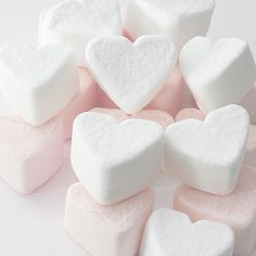 Marshmallow Love Hearts Photograph  - Marshmallow Love Hearts Fine Art Print