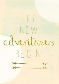Let new adventures b