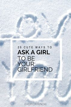 These are the cute ways to ask a girl to be your girlfriend. Check out the these sweet possibilities to get the girl of your dreams on your side. Girlfriend Proposal, Girlfriend Quotes, Girlfriend Gift, Asking A Girl Out, Asking Someone Out, Online Dating Advice, Dating Advice For Men, Dating Tips, Funny Dating Quotes