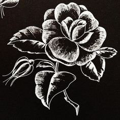 Glass etching or engraving pattern.