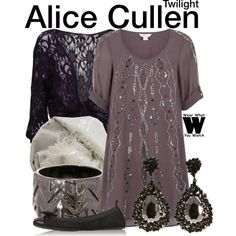 Inspired by Ashley Greene as Alice Cullen in the Twilight film franchise.