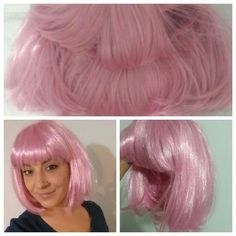 Light Pink Bob Wig!!! Super cute! Perfect condition!! Accessories Hair Accessories