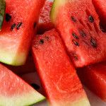 If you are working out at the gym, a large slice of watermelon afterwards is so much better and safer than an energy drink. Its high water quantity hydrates us while energy drinks filled with caffeine actually dehydrate us. High water content I don't think there can be many in this world who do not enjoy the taste of watermelon – it is the ultimate thirst quencher. Because watermelon has...