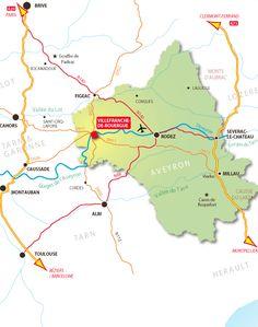 Mairie de Villefranche de Rouergue : Venir à Villefranche