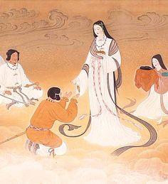 Amaterasu O-Mikami ( Sun Goddess. Ancestor God of Imperial family ) / 天照御大神 Please visit Ise Jingu Shrine.