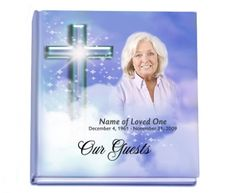 Hardcover Guest Books : Adoration Guest Registry Sign-In Book with Optional Photo
