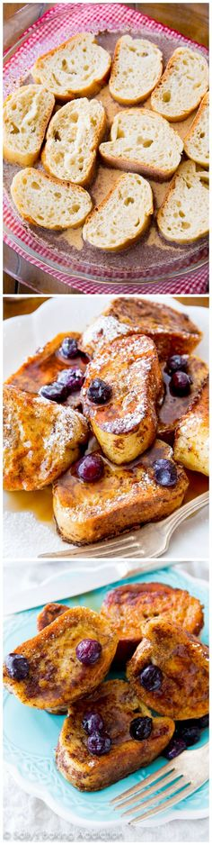 Just when you think french toast can't get any better - try it in mini size. Both fun to make and even more fun to eat!