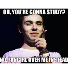 Nathan Sykes! <3 I don't fangirl over you. I admire you...extensively