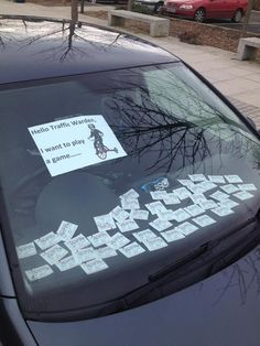 Funny pictures about Hello Traffic Warden. Oh, and cool pics about Hello Traffic Warden. Also, Hello Traffic Warden. Funny Pranks, Funny Jokes, Hilarious, Funny Office Pranks, Good Pranks, Funny Images, Funny Pictures, Random Pictures, Parking Tickets