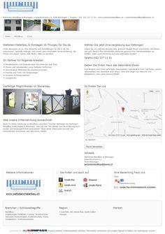 Wettstein Metallbau & Montagen, Matzingen, Verglasungen, Frauenfeld, Sonnenstoren, Metalltreppen