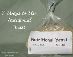 7 Things You Can Do With Nutritional Yeast