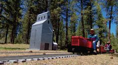 Train Mountain is the world's largest miniature railroad, with 36 miles of tiny track, weaving through 2,300 acres of forest in remote southern Oregon.