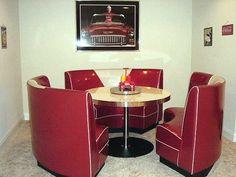 Retro Circle Booth kitchen set