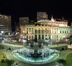 Ramos de Azevedo Square - Sao Paulo, Brazil