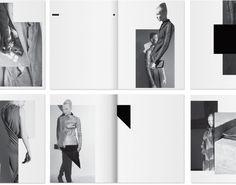 minimalist lookbook layout - Google Search