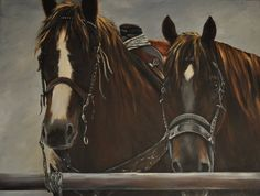 Roping Horses Cowboy Western Art print great for western decor, western art. $25.00, via Etsy.