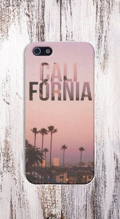 California Case for iPhone 5 iPhone 5S iPhone 4