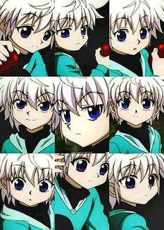 Baby Killua :3 Hunter x Hunter