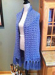 Ravelry: Whelk Stitch Prayer Shawl pattern by Louis Chicquette free pattern