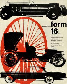 form N° 16. 1961. Cover: Karl Oskar Blase. © Verlag form GmbH & Co. KG