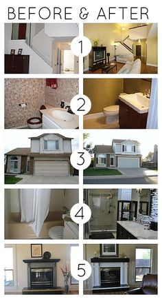 home improvement before and after
