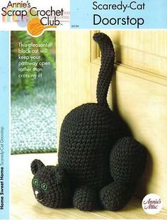 Ravelry: Scairdy Cat Doorstop pattern by Kathleen Stuart