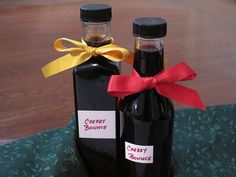 12 Days of Edible Gifts: Cherry Bounce