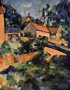 Turning Road at Montgeroult 1899 Paul Cezanne