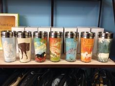 Eco friendly travel mugs $19.95 www.ponyupequestrian.com Voss Bottle, Water Bottle, Travel Mugs, Eco Friendly, Drinks, Gifts, Drinking, Favors, Water Flask