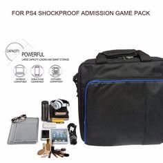 Alta calidad Juego de Protección de Bolsa del Almacenaje del Recorrido Bolsas de Hombro Carry Case para el Controlador de Consola PS4 para PlayStation