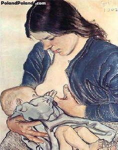 """Stanislaw Wyspianski """"Motherhood"""" 1902"""