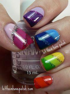 Epic Rainbow Mani