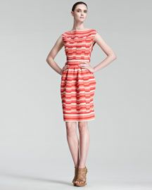 Christian Dior Striped Dress, Bergdorfgoodman