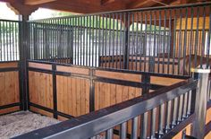 check out this blog about barn-building-101- It discusses the importance of durable interior partitions for horses. Something good to think about when you design your equine facility - posted by Animal Arts