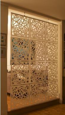 Great room divider or window covering! Www.howkins.com